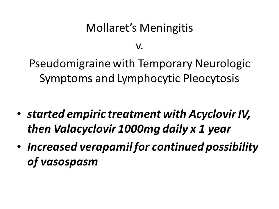 Mollaret's Meningitis v.