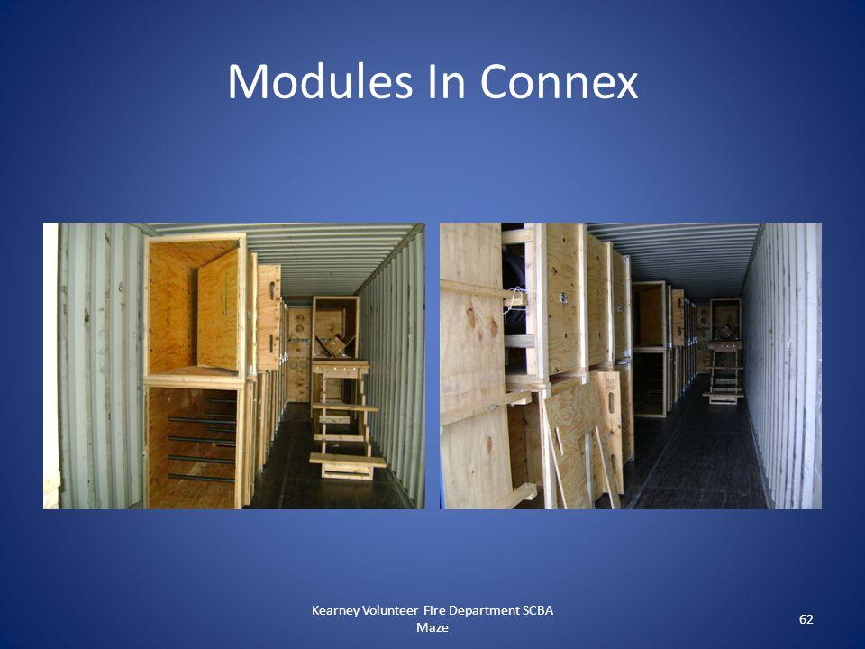 Modules In Connex Kearney Volunteer Fire Department SCBA Maze 62