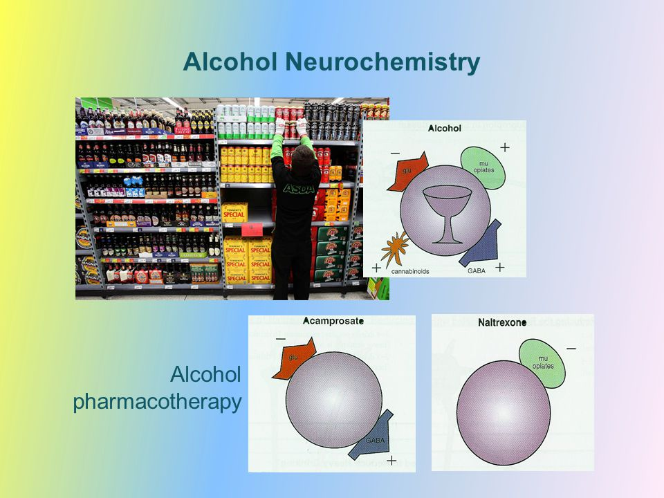 Alcohol Neurochemistry Alcohol pharmacotherapy