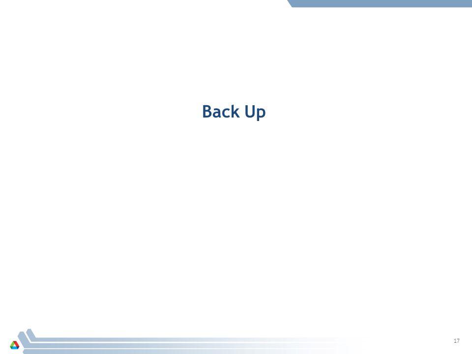 17 Back Up
