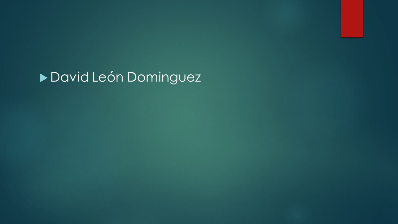  David León Dominguez