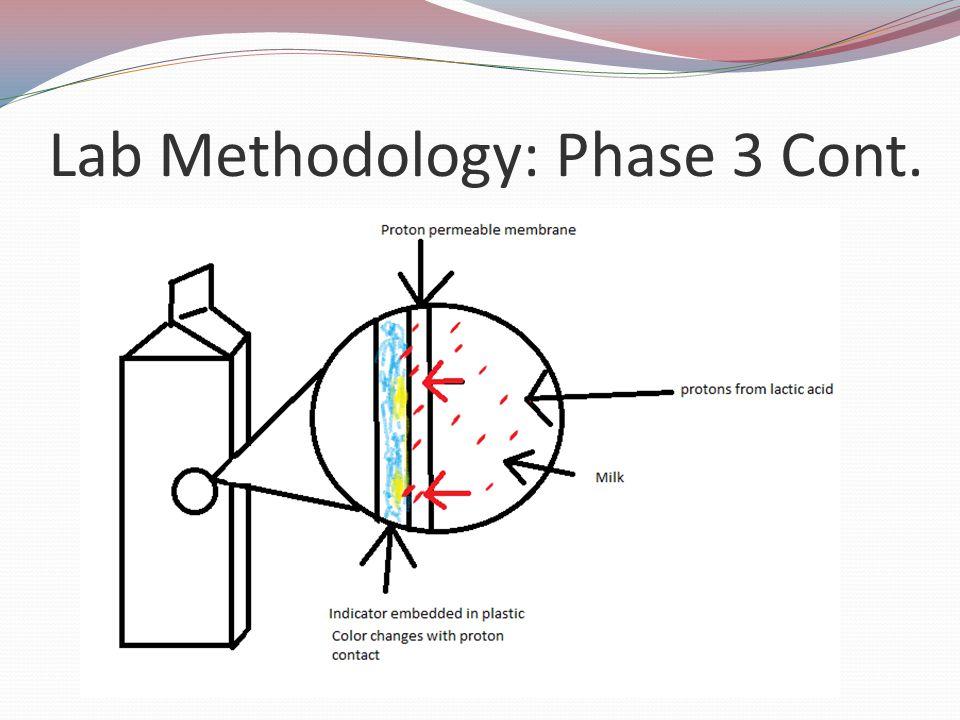 Lab Methodology: Phase 3 Cont.