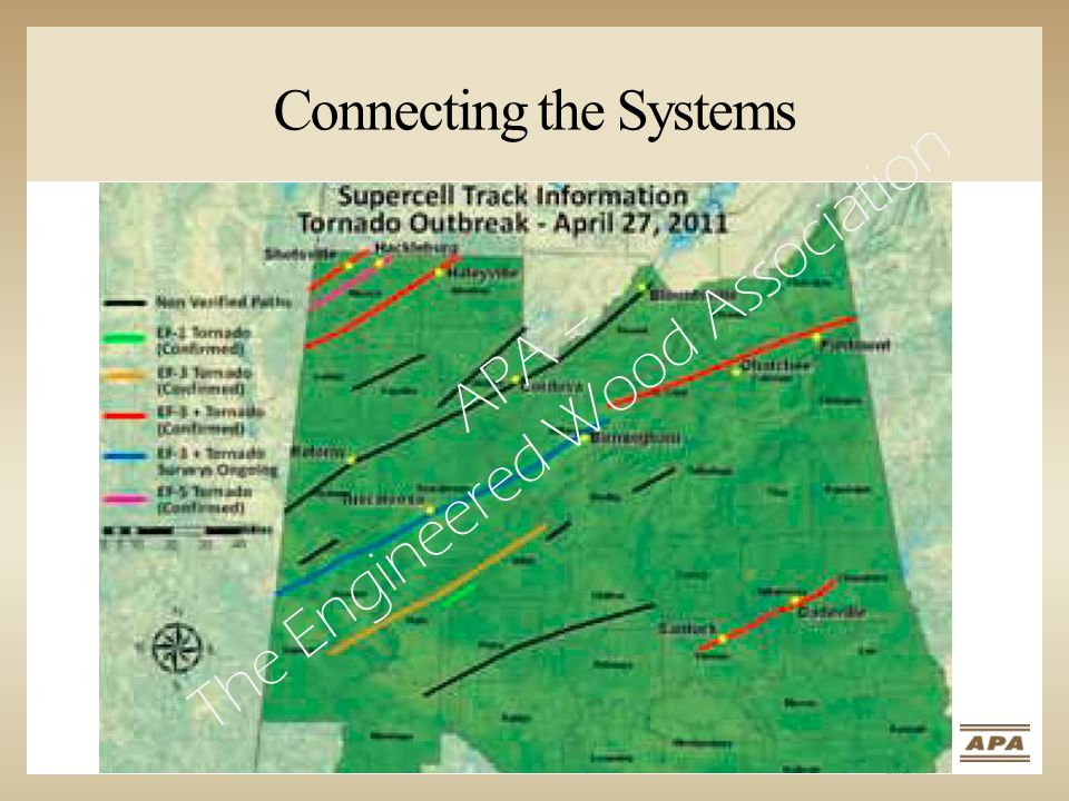 Connecting the Systems APA – The Engineered Wood Association