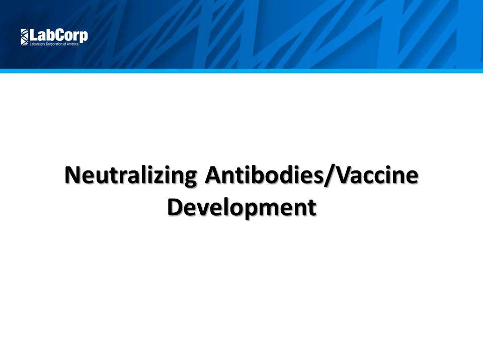 Neutralizing Antibodies/Vaccine Development
