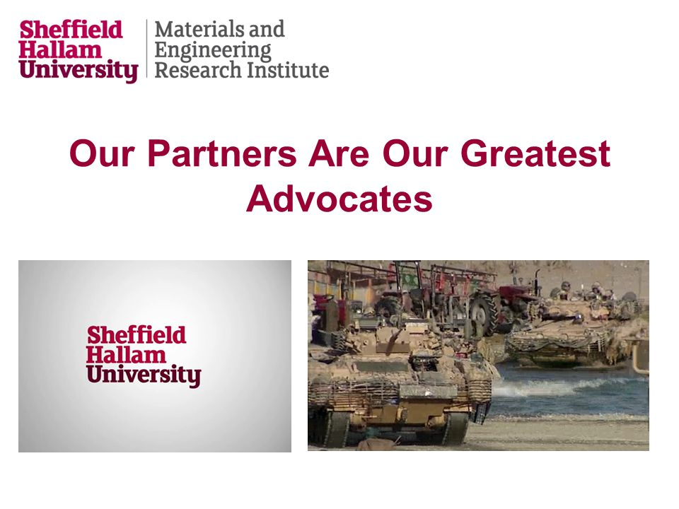 Our Partners Are Our Greatest Advocates