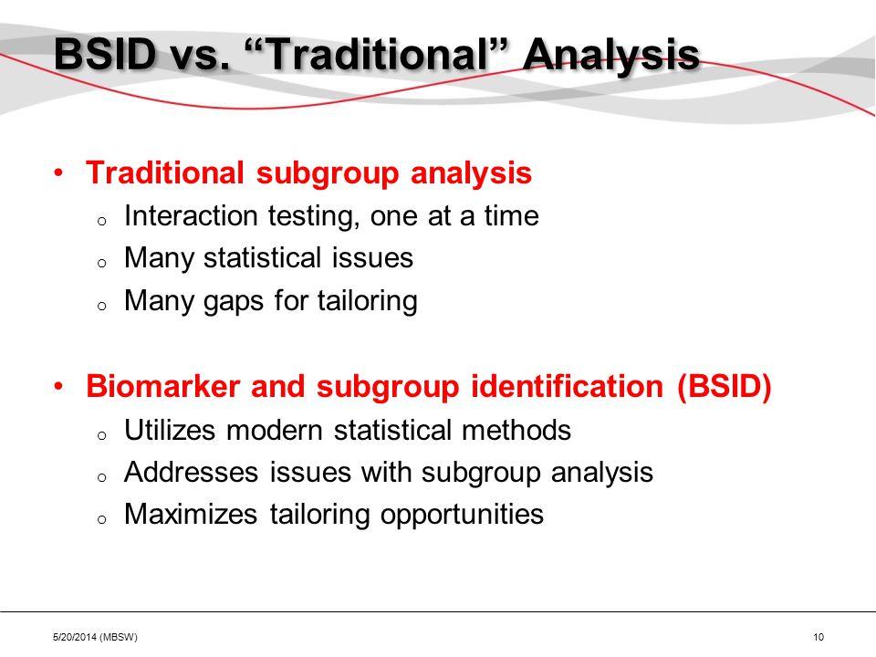 BSID vs.
