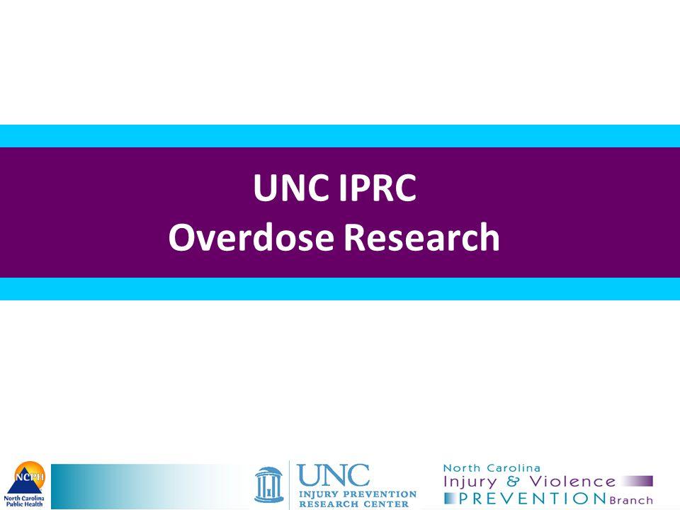 UNC IPRC Research Funding: –CDC, NIJ, Kate B.