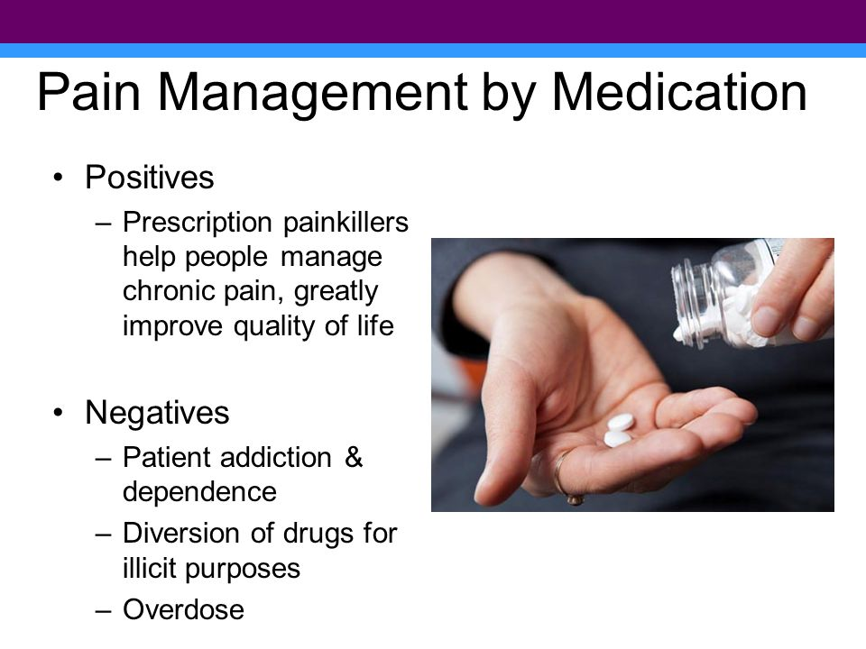 November 2011 15,000 prescription painkiller overdose deaths annually in US 1 in 20 people (>12 yrs) used prescription pain killers for nonmedical purposes Enough prescription painkillers were prescribed annually to medicate every US adult around-the-clock for a month