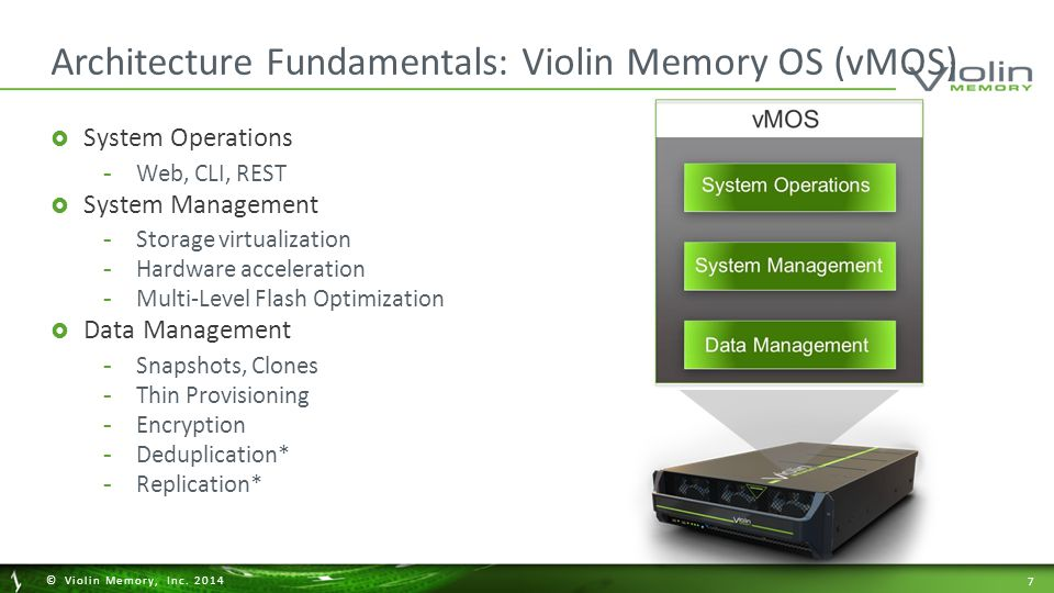 28 © Violin Memory, Inc.2014 Violin Symphony: Manage PB's in a Flash.