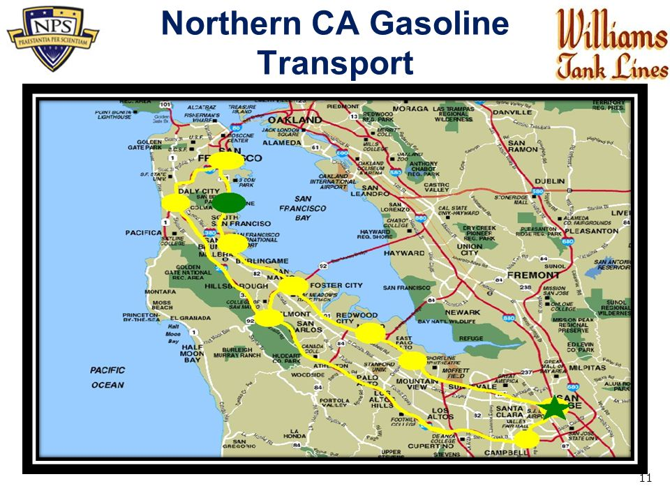 Northern CA Gasoline Transport 11