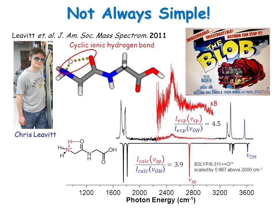 Calculated Intensity/Predissociation Yield x4 Harmonic x4 Anharmonic 1200160020002400280032003600 Photon Energy (cm -1 ) ~