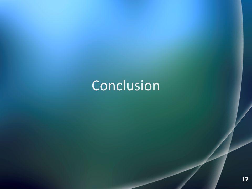 Conclusion 17