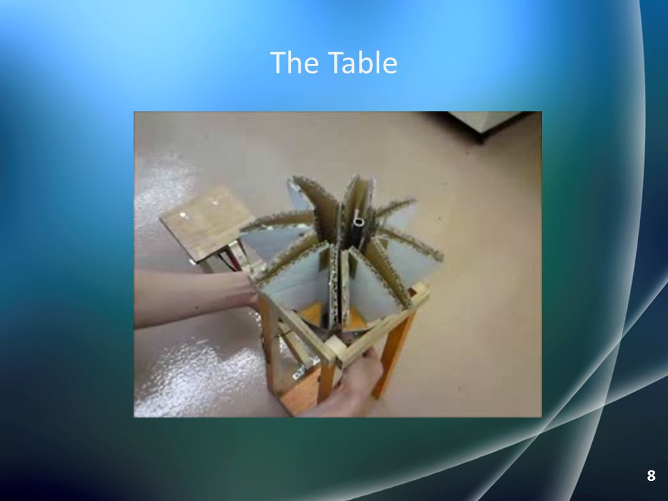 The Table 8