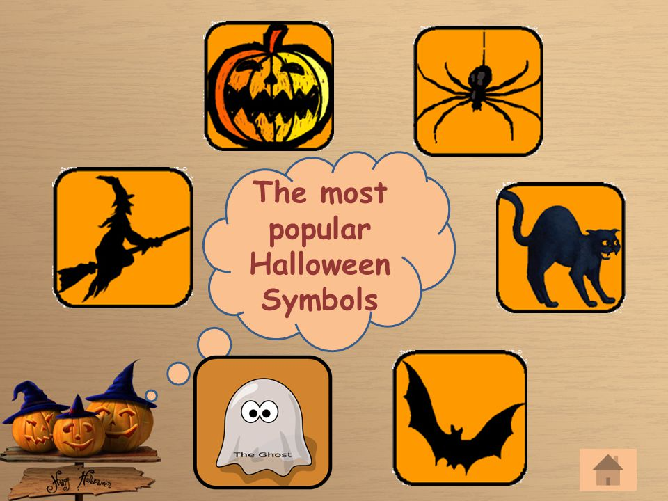 The most popular Halloween Symbols