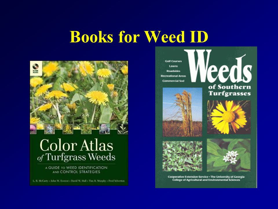 Books for Weed ID