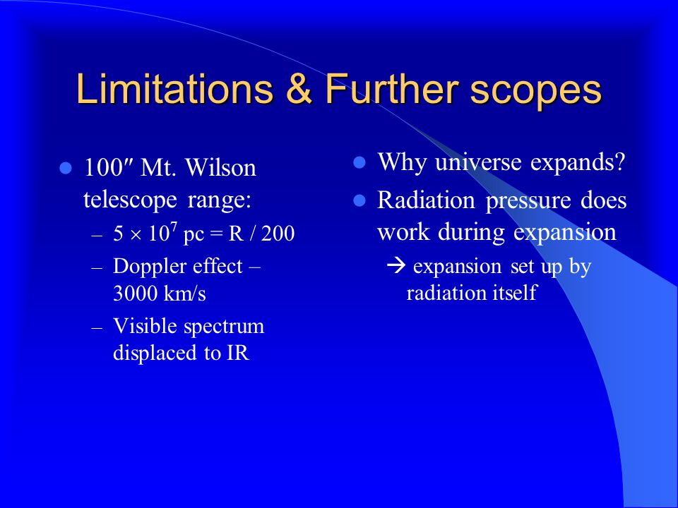 Limitations & Further scopes 100  Mt.