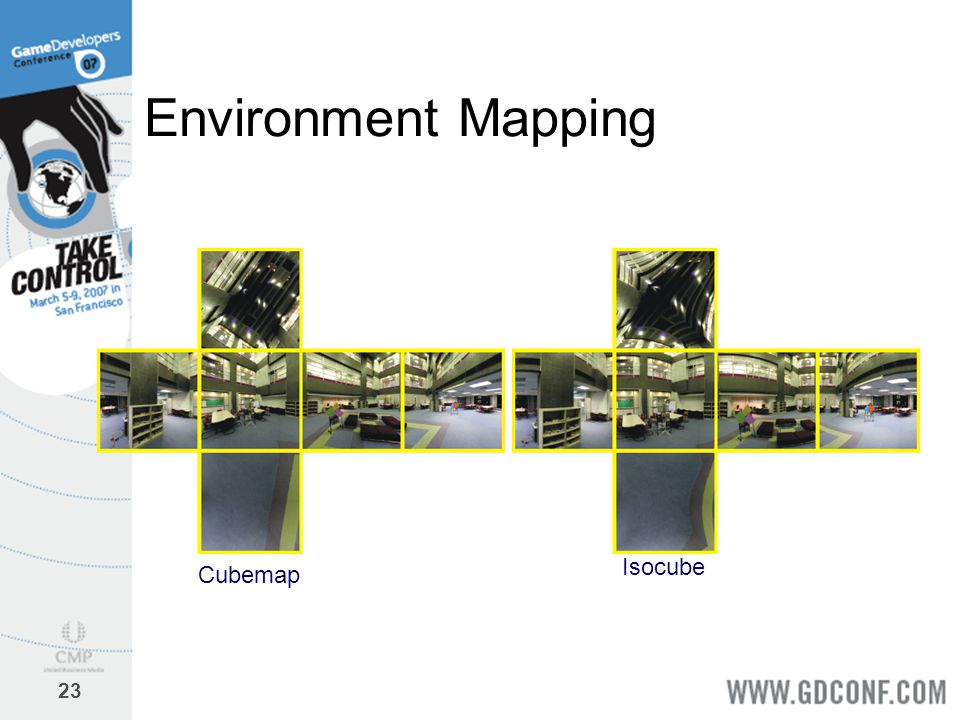 23 Environment Mapping Cubemap Isocube