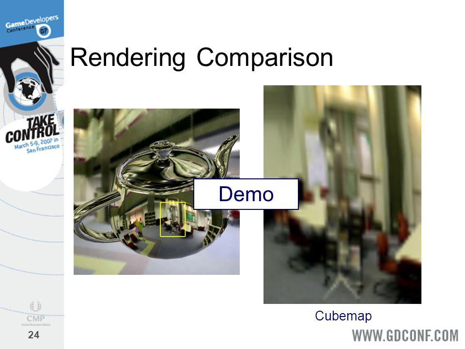 24 Rendering Comparison Cubemap Demo