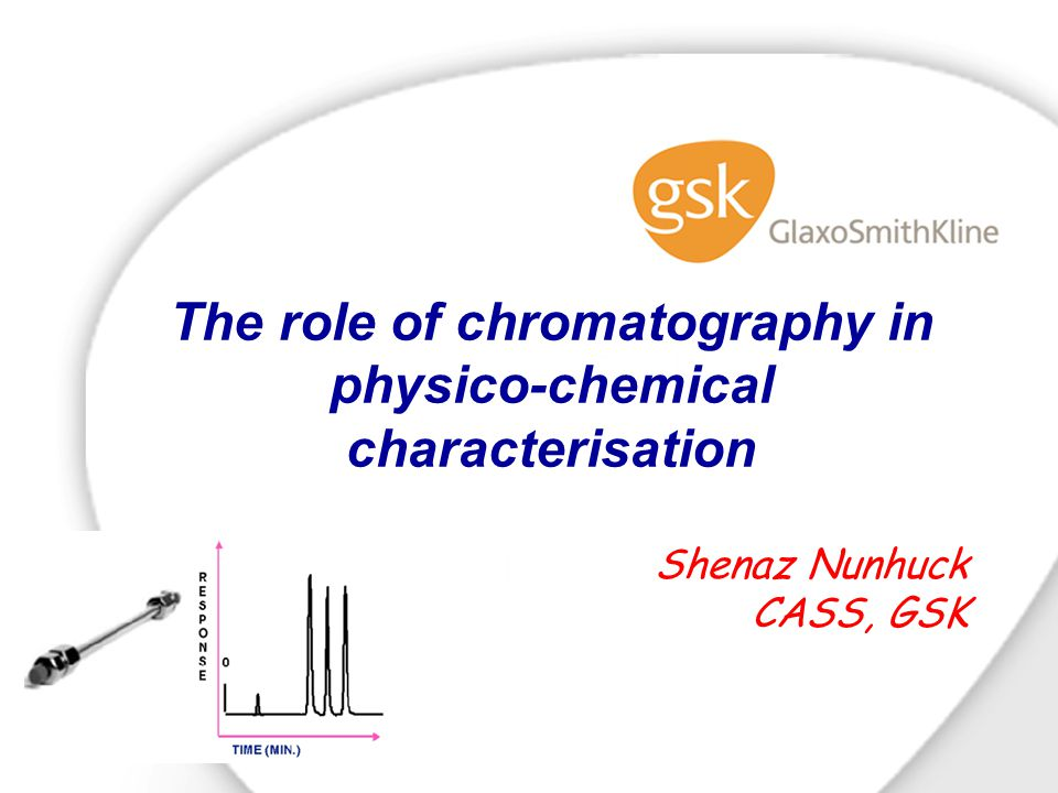 The role of chromatography in physico-chemical characterisation Shenaz Nunhuck CASS, GSK