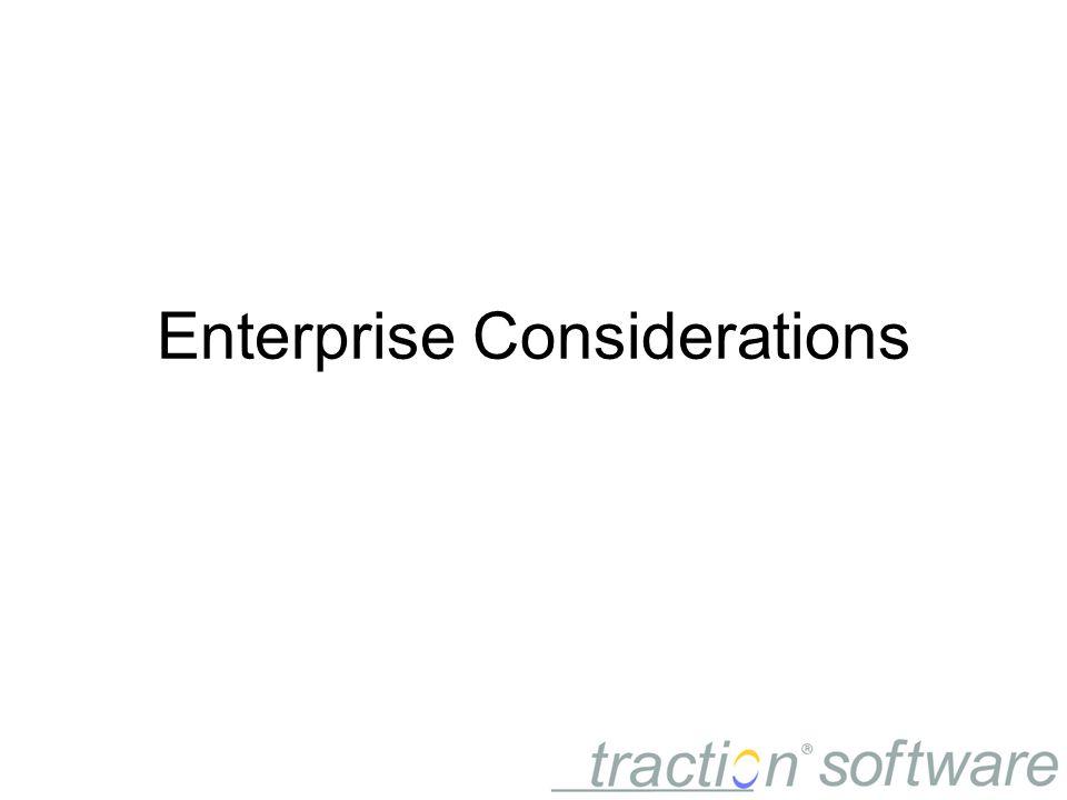 Enterprise Considerations