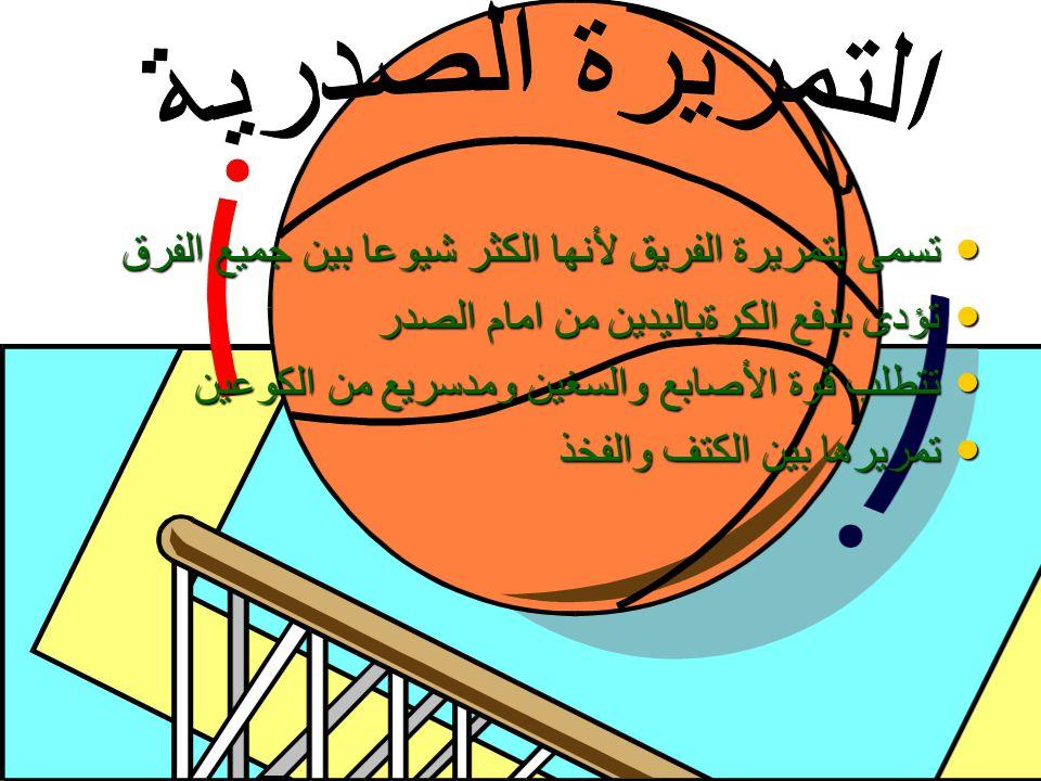 يجب ان يتحرك المستقبل نحو الكرة.فهذا يجعل احتمال قطع الكرة اقل يجب ان يتحرك المستقبل نحو الكرة.