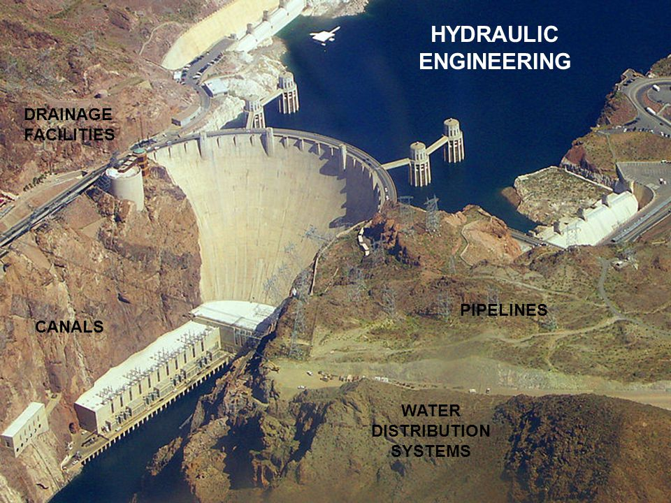 HYDRAULIC ENGINEERING PIPELINES WATER DISTRIBUTION SYSTEMS DRAINAGE FACILITIES CANALS