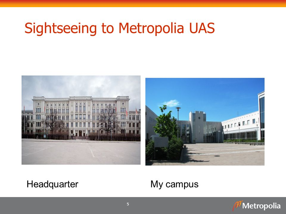 5 Sightseeing to Metropolia UAS HeadquarterMy campus