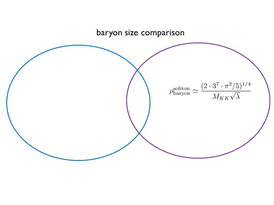 baryon size comparison
