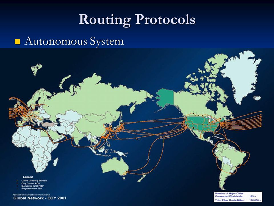 Routing Protocol Good: Efficiently broadcast up-to-date routing information Good: Efficiently broadcast up-to-date routing information Bad: Rumor may be broadcast efficiently, too.