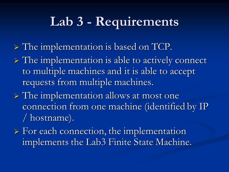 Lab3 - Finite State Machine