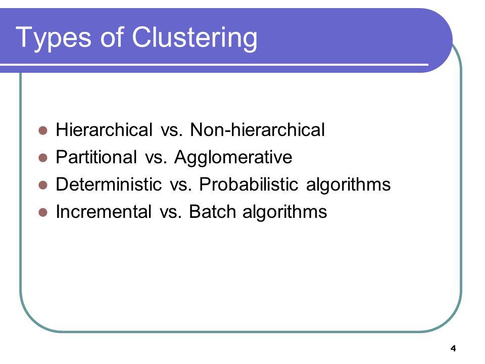 5 Why Incremental Clustering .