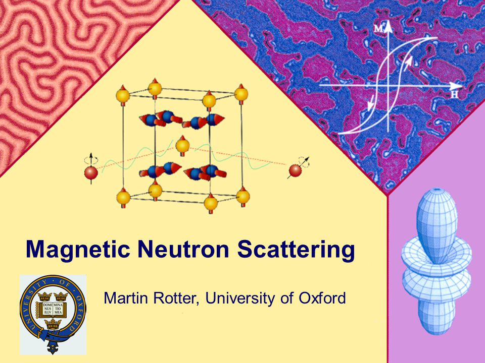 Martin RotterMagnetism in Complex Systems 20091 Magnetic Neutron Scattering Martin Rotter, University of Oxford