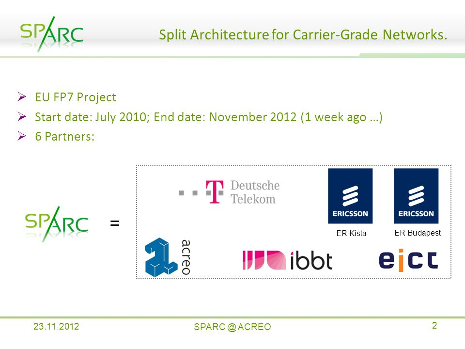 Split Architecture for Carrier-Grade Networks.