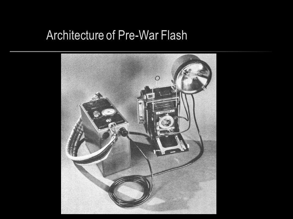 Architecture of Pre-War Flash