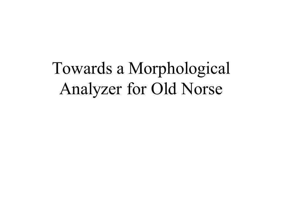 Morpholog.