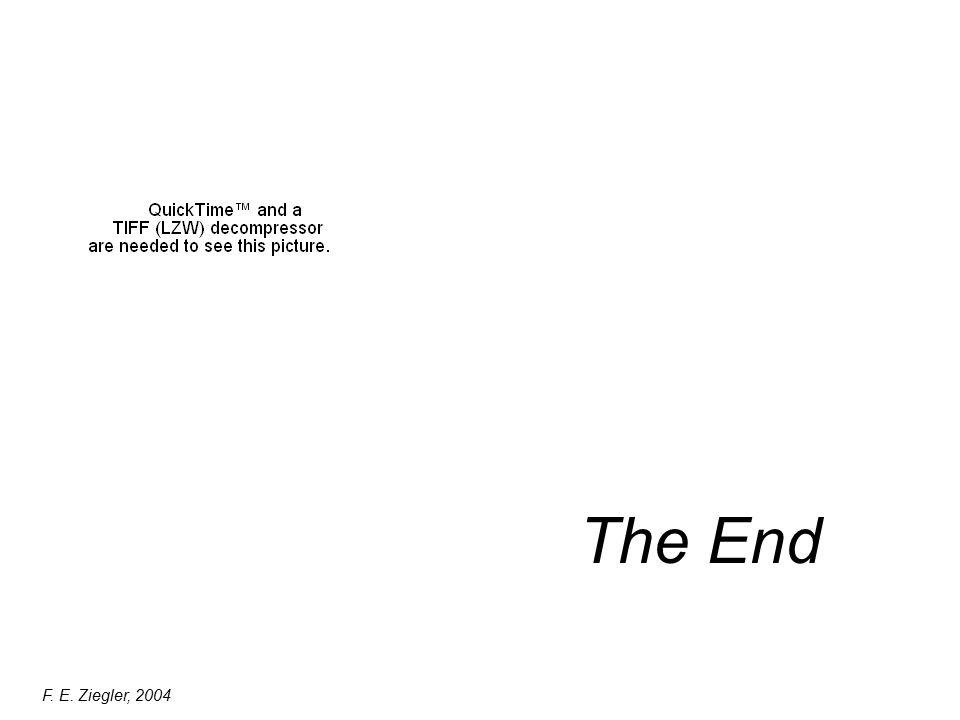 The End F. E. Ziegler, 2004