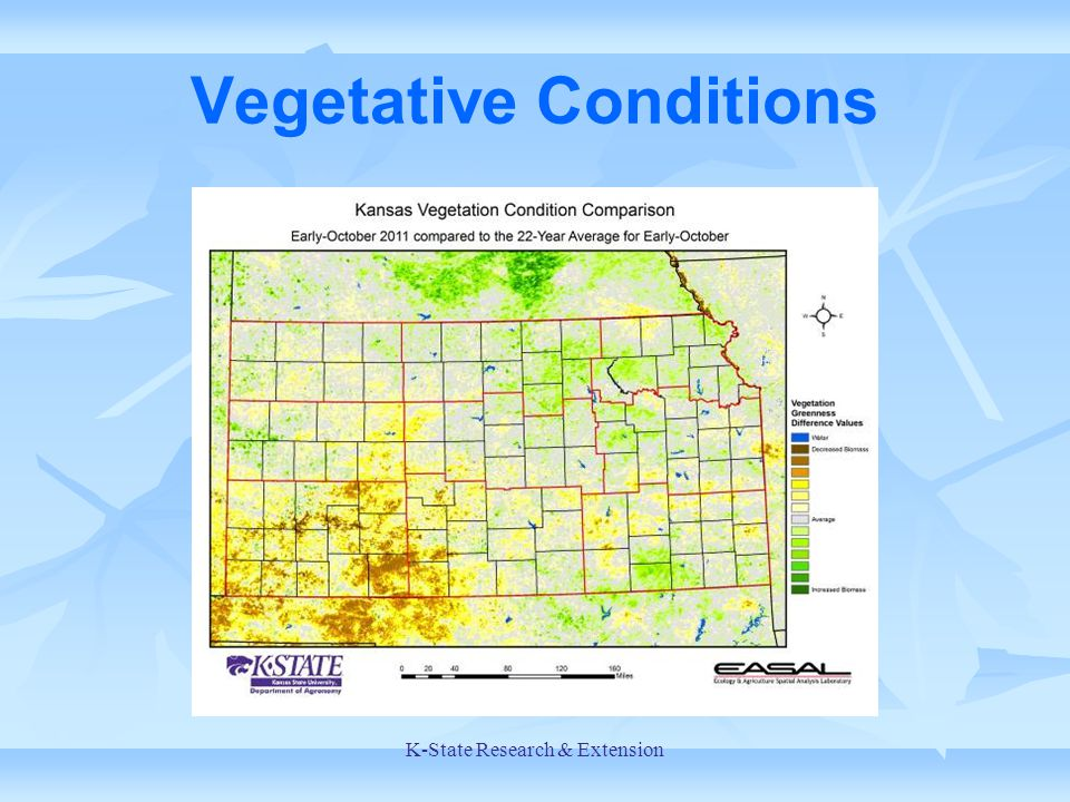 Vegetative Conditions K-State Research & Extension