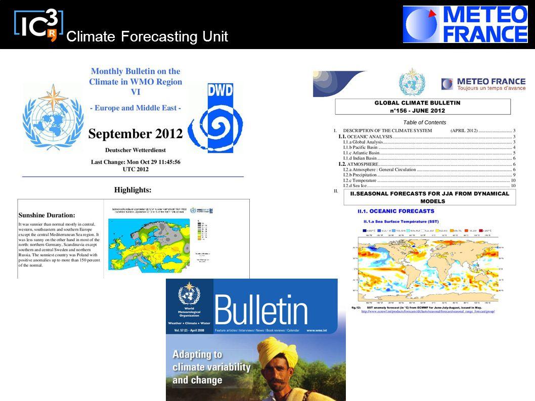 Climate Forecasting Unit
