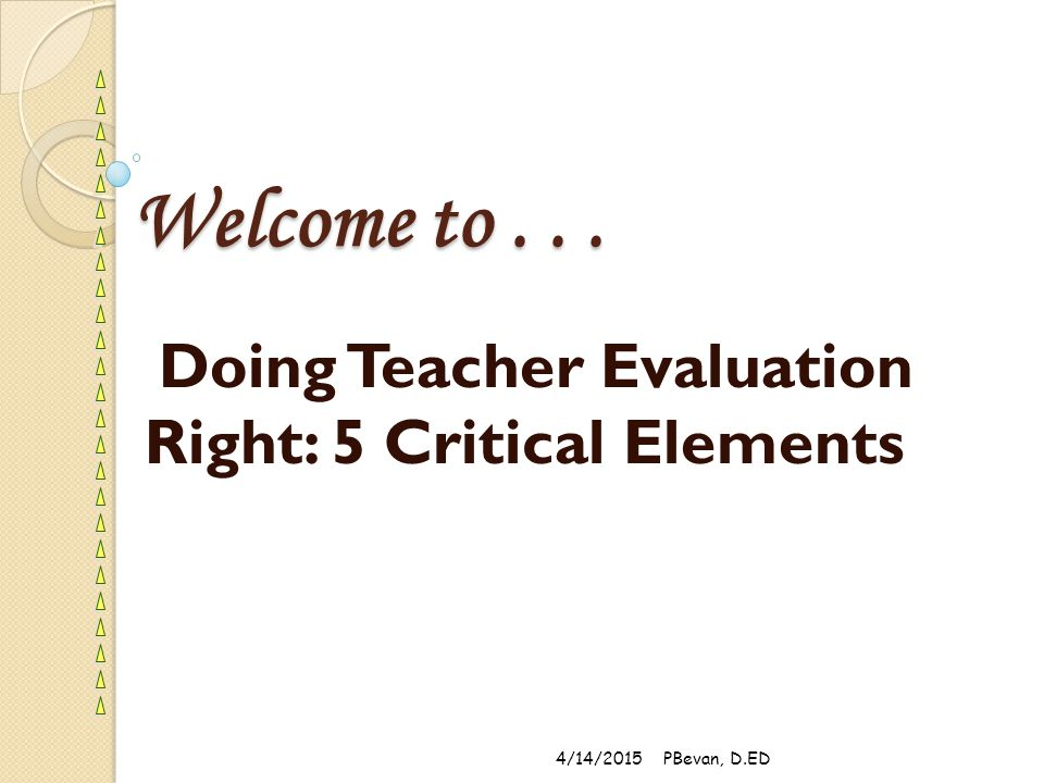 Observation-based Assessment: Process and Evidence 1.