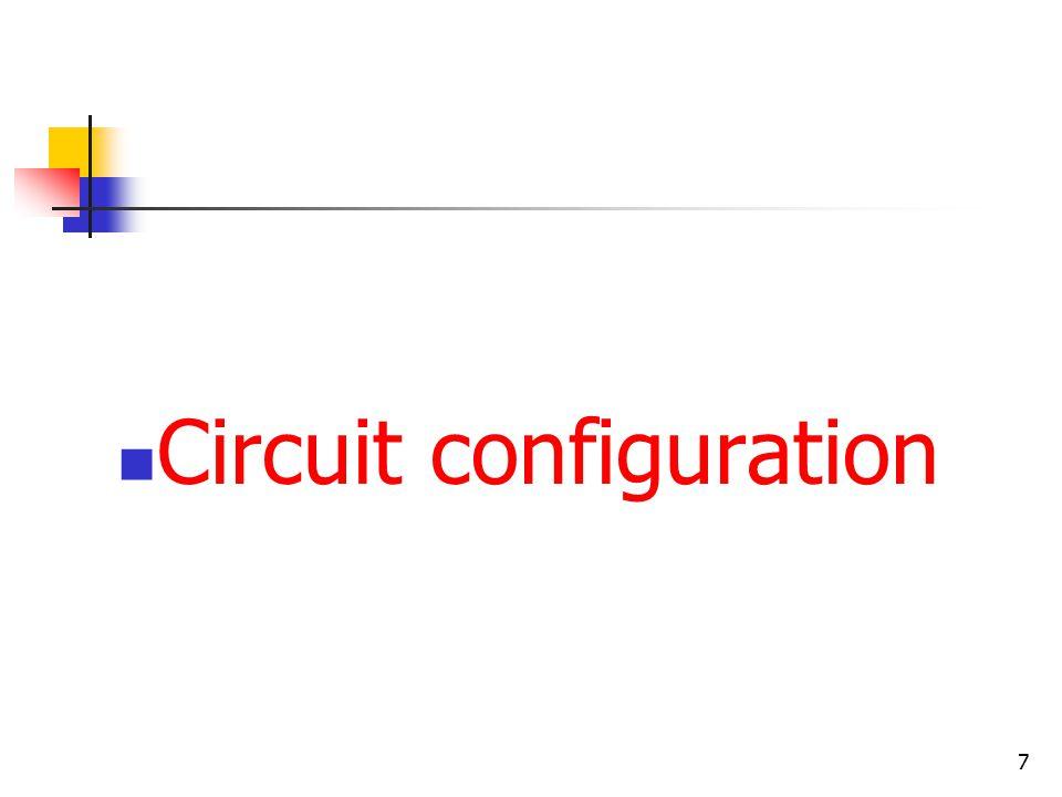 7 Circuit configuration