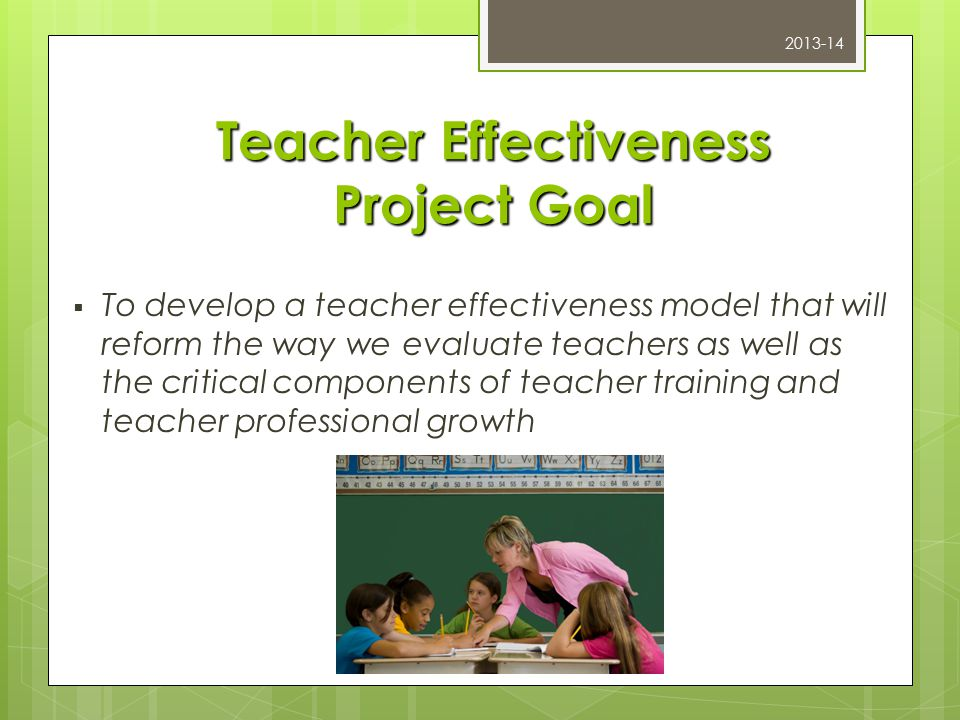 Multi-Measure Teacher Effectiveness  Developed in collaboration with Charlotte Danielson  Phase 3 Implementation 2012-13  Tool to be used with all professional staff except Specialists ; Guidance, School Psychologists, Nurses, etc.