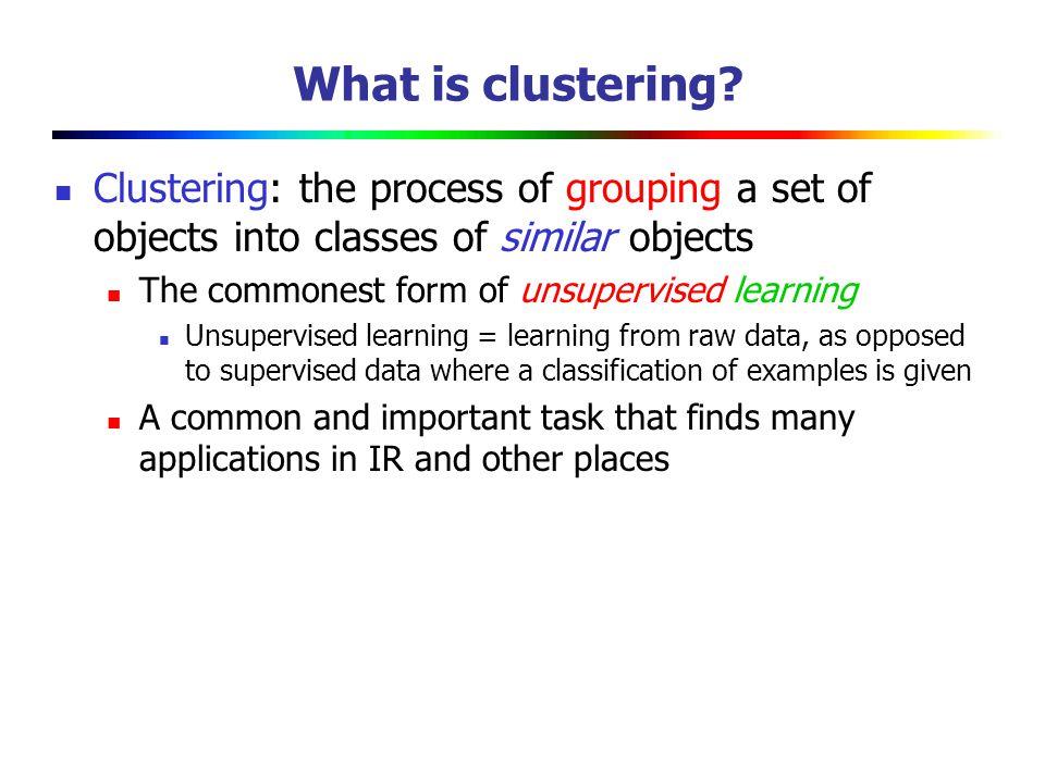 Seed Choice Seed 的选择会影响结果 某些 seeds 导致收敛很慢, 或者收敛到 sub-optimal clusterings.