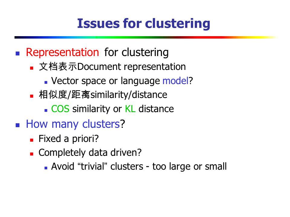 Rand index Example      Cluster ICluster IICluster III