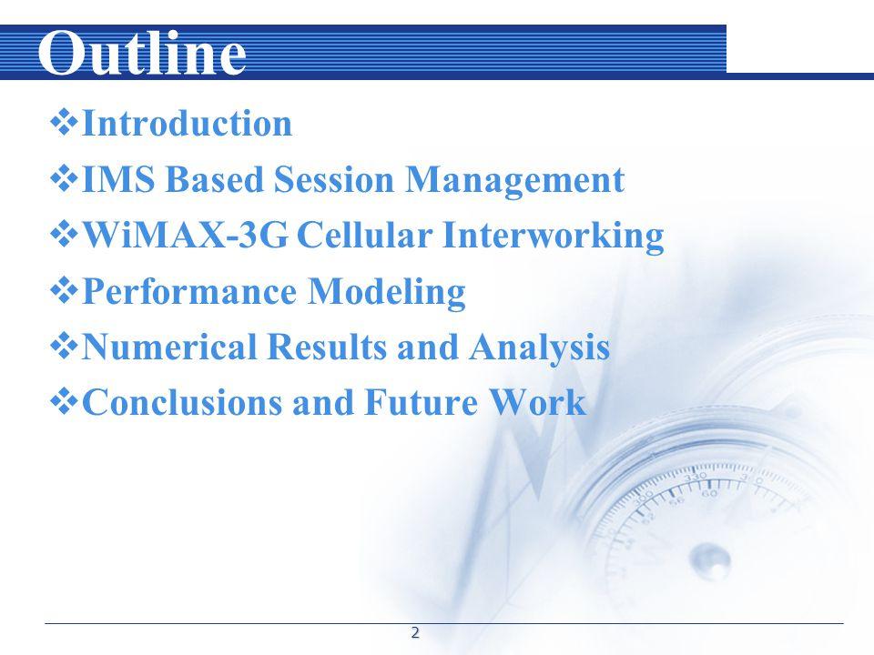 Performance Modeling A.Handoff Delay Analysis 13
