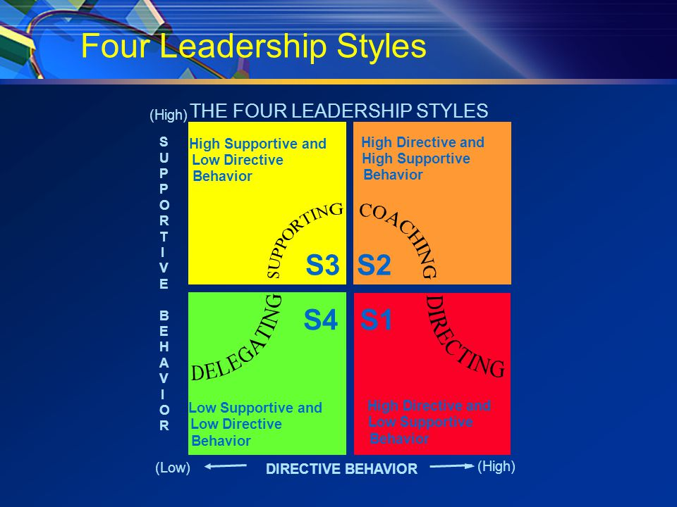 Subordinate's Development Level  Competence:  Task Relevant knowledge  Task Relevant Skills  Commitment:  Motivation  Responsibility