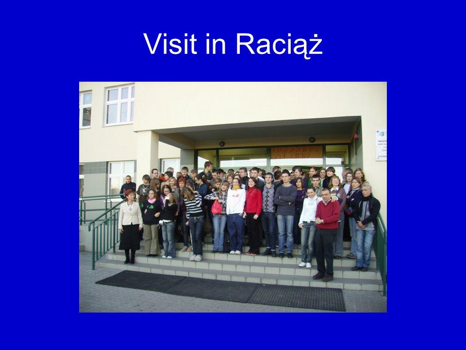 Visit in Raciąż