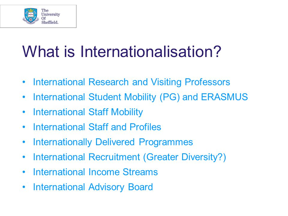 Triggers of Internationalisation Saturation E.O.S Life cycle Economic Sourcing Foreign Market Advantages International Opportunities National Policy Globalisation Narrow line Capacity I.T.