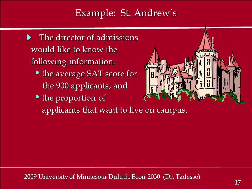 17 2009 University of Minnesota-Duluth, Econ-2030 (Dr.