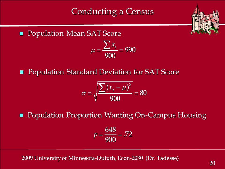 20 2009 University of Minnesota-Duluth, Econ-2030 (Dr.