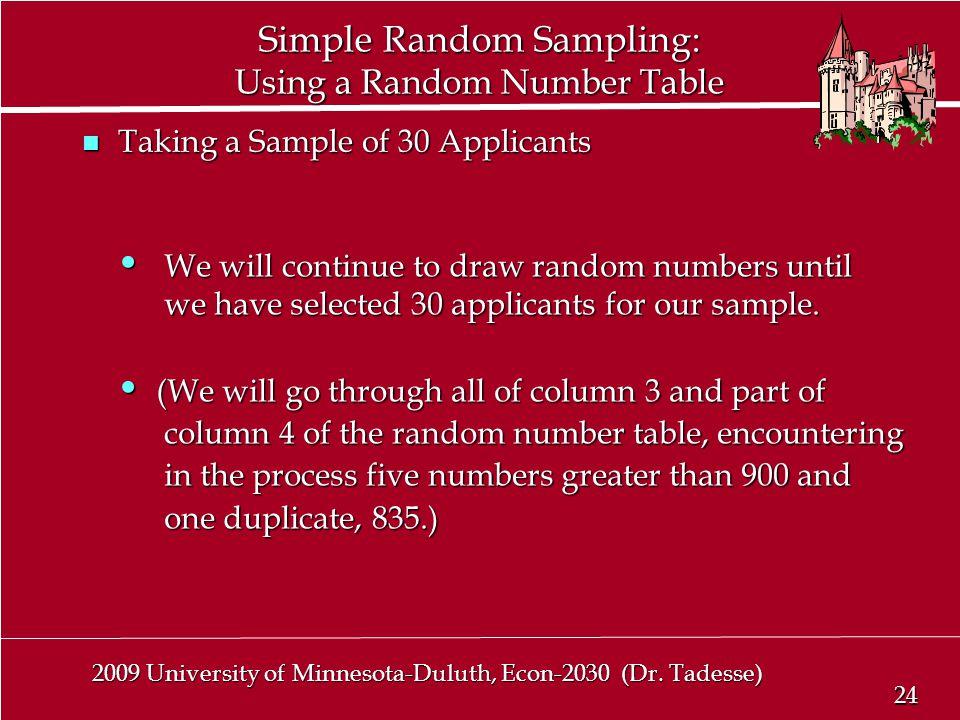 24 2009 University of Minnesota-Duluth, Econ-2030 (Dr.